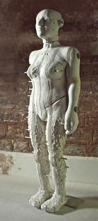 Walking woman, working model h. 85 cm