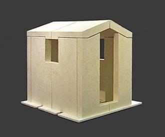 Tabernacle  3/4 scale model