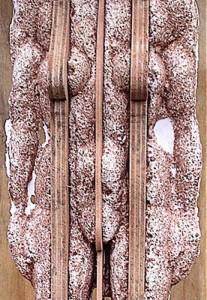 Cortege sand cast figure