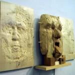 Stacker reliefs